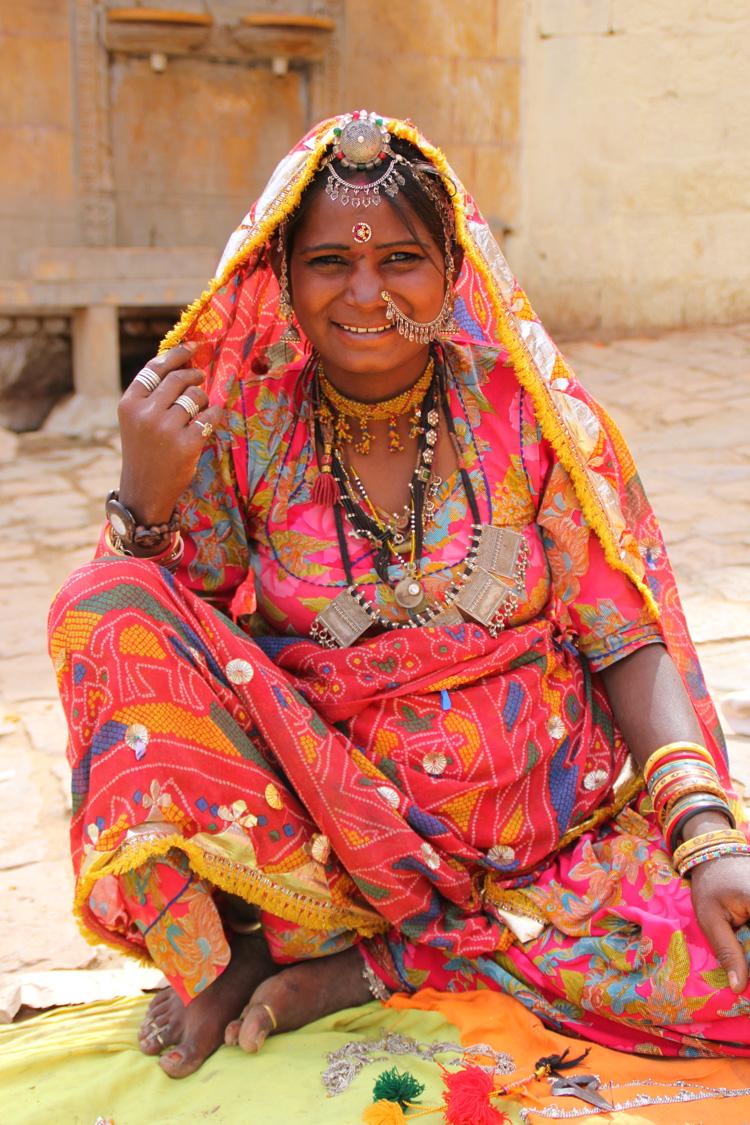 インドの売り子
