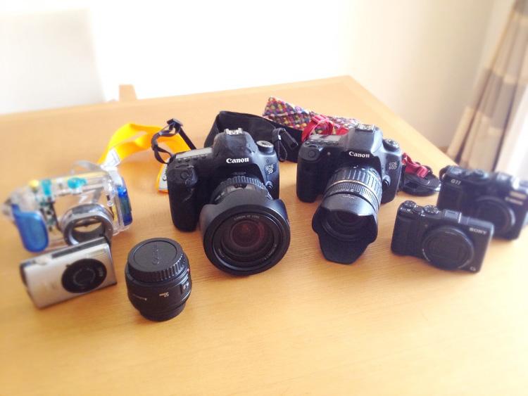 所持するカメラ