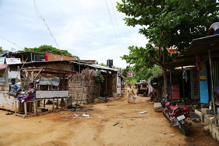 ハンピの村