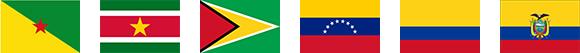 南米 国旗