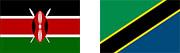 タンザニア ケニア 国旗