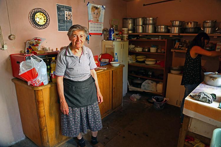 リダおばあちゃん家のキッチン