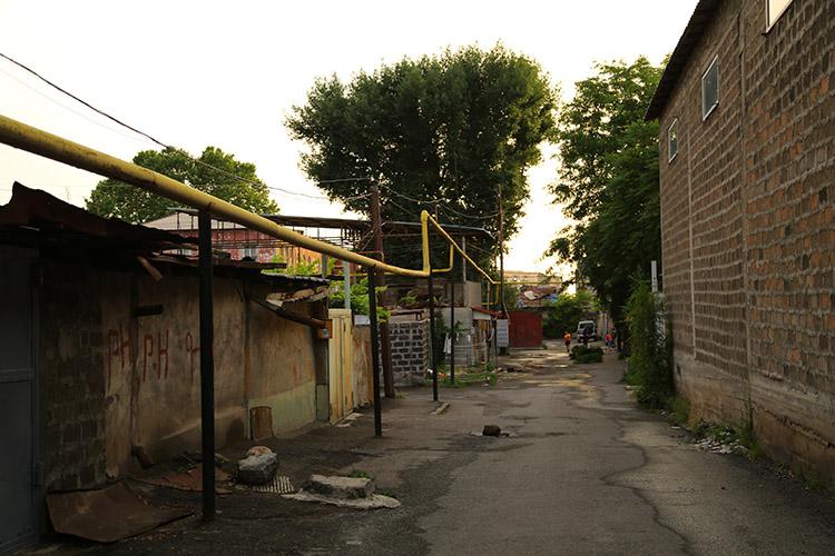 リダの家の小道