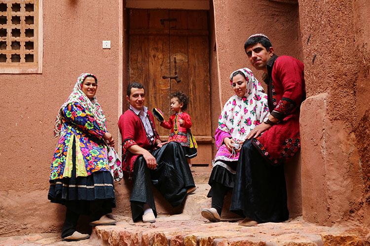 華やかな民族衣装