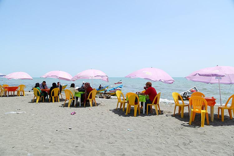 アスタラのビーチ