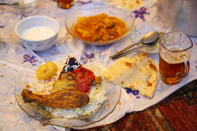 イランの家庭料理