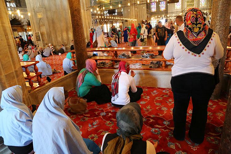 女性専用のお祈り場所