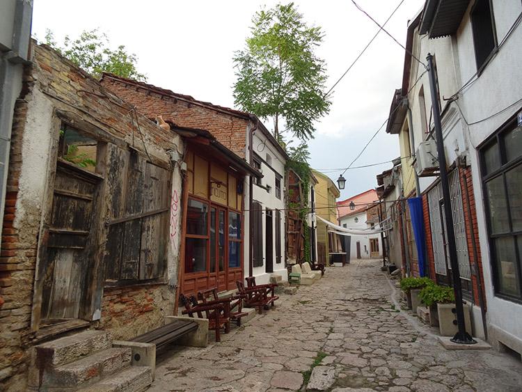 石畳の旧市街