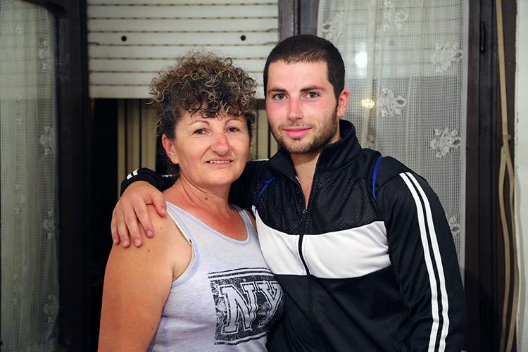 ヨヴァンガと息子さん