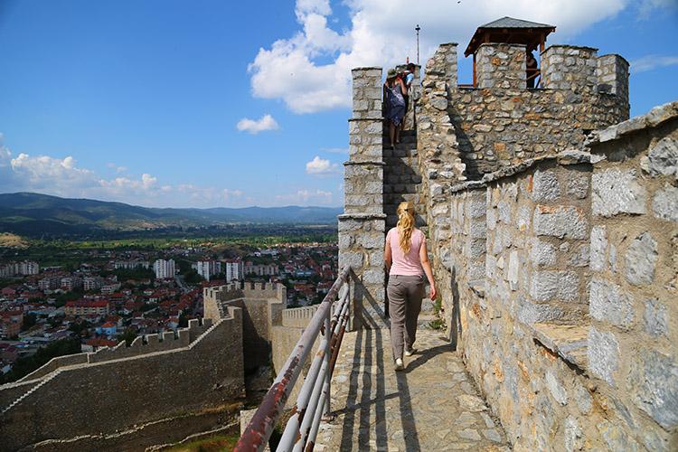 丘の上の城塞