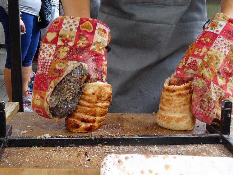 くるくる巻きのパン