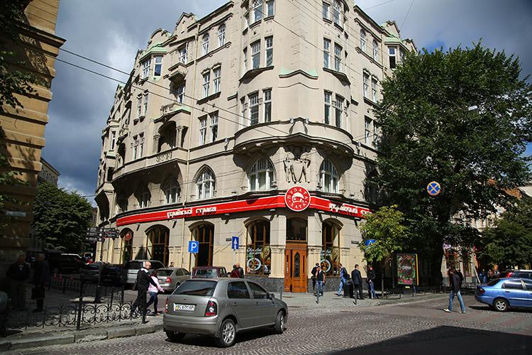 ウクライナ レストラン