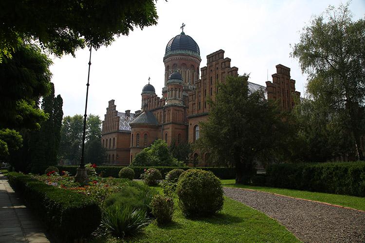 チェルニウツィ 教会
