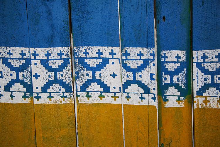 ウクライナ 国旗カラー