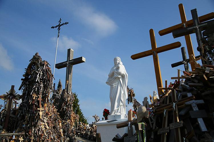 マリア様の像