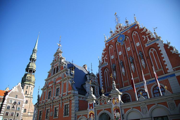 ラトビア首都 リガ