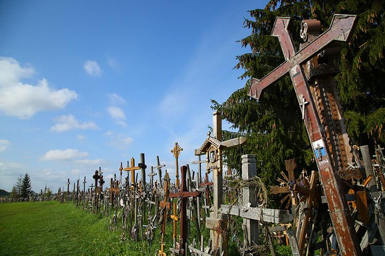 リトアニア 十字架の丘