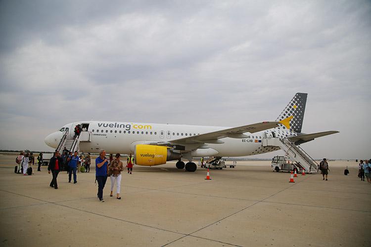 LCC vueling航空 ヨーロッパ