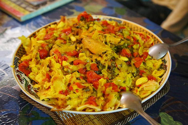 モロッコ 家庭料理