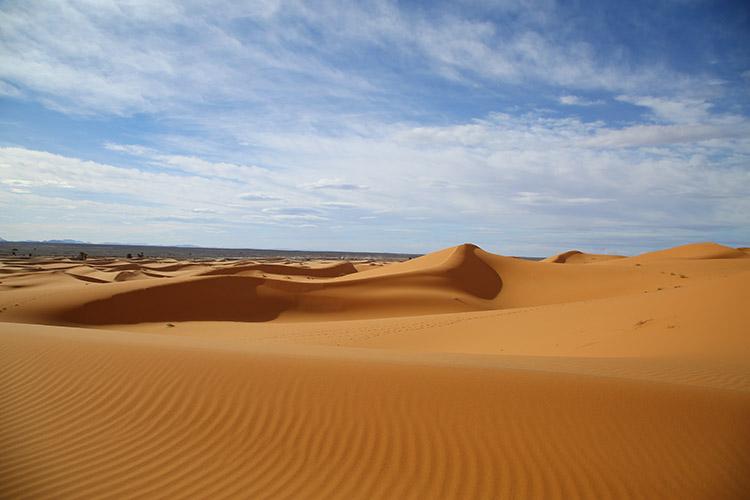 メルズーガ サハラ砂漠
