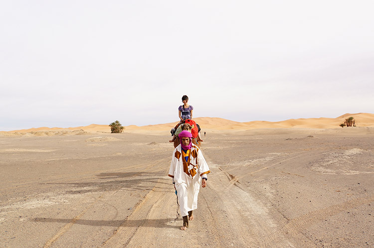サハラ砂漠 キャメルツアー