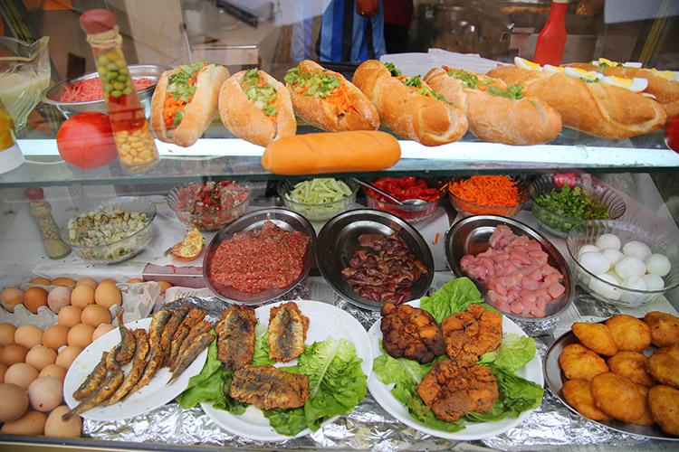 モロッコ サンドイッチ