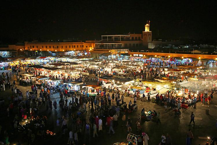 モロッコ フナ広場