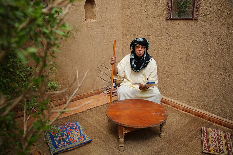 サハラ砂漠 ホテル