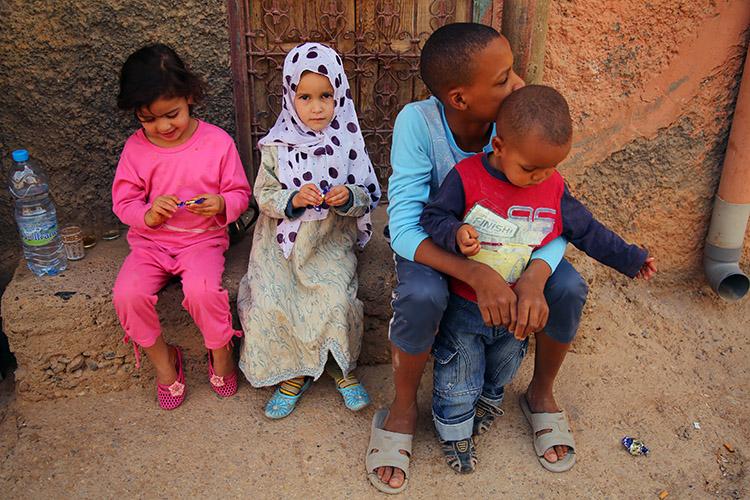 モロッコ 観光 トドラ渓谷