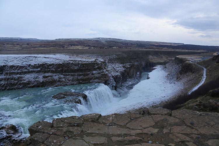 アイスランド グトルフォス