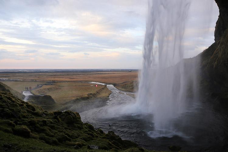 アイスランド セーリャランドスフォス
