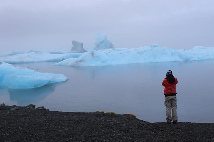 アイスランド ヨークルスアゥルロゥン氷河湖