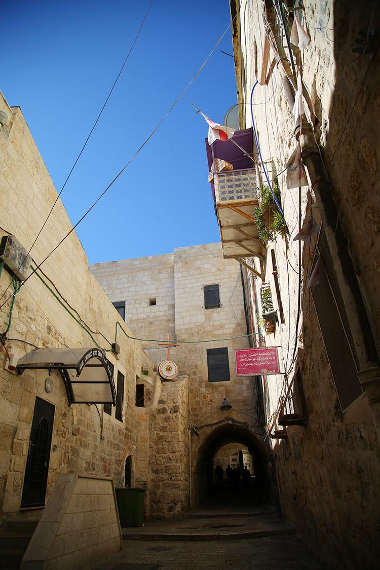 イスラエル エルサレム キリスト教徒地区