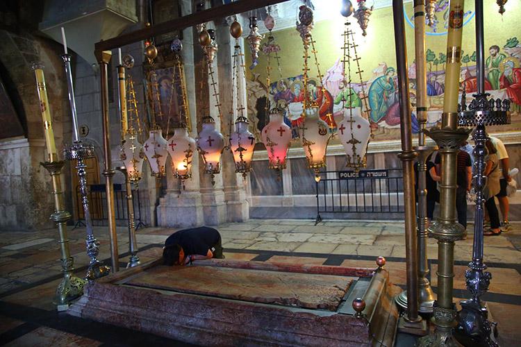 エルサレム 聖墳墓教会 ゴルゴダの丘