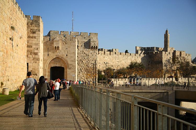 エルサレム 旧市街 ヤッフォ門