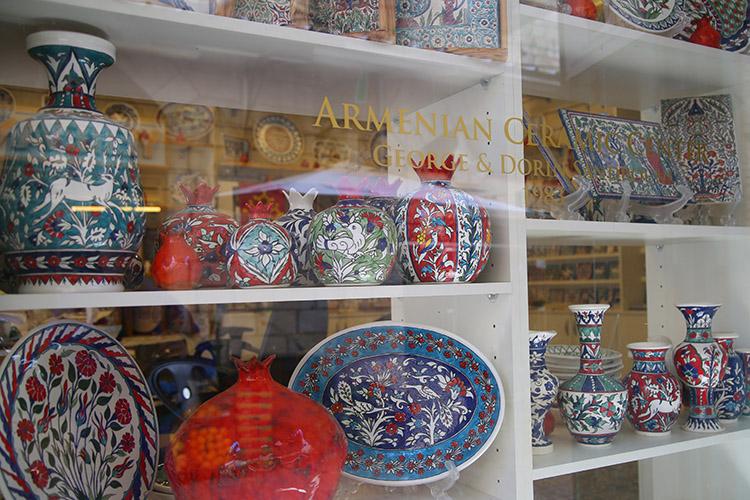 イスラエル アルメニア陶器