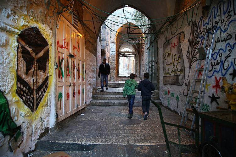 イスラエル エルサレム ムスリム地区
