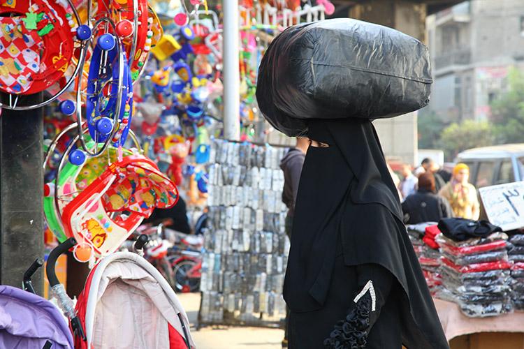 イスラム 女性 ファッション エジプト