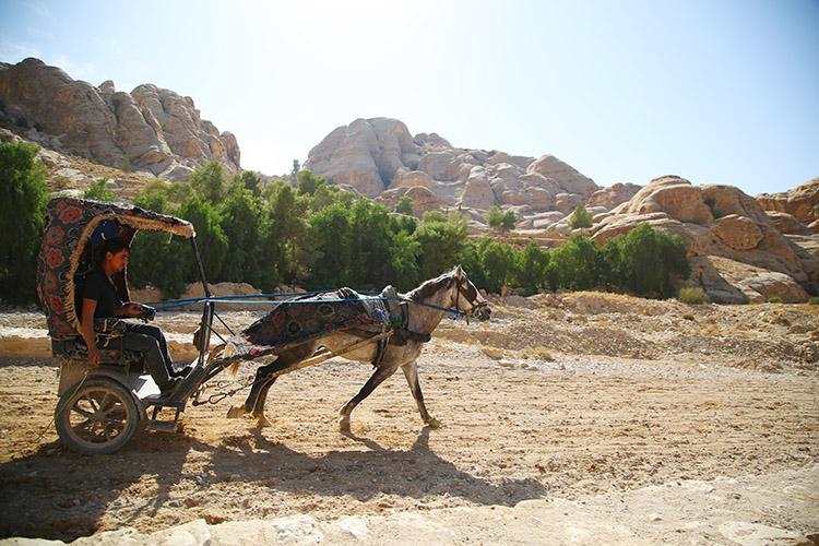 ヨルダン ペトラ遺跡