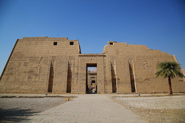 ルクソール ラメセス3世葬祭殿