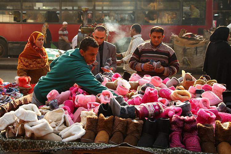 カイロ イスラム地区 市場