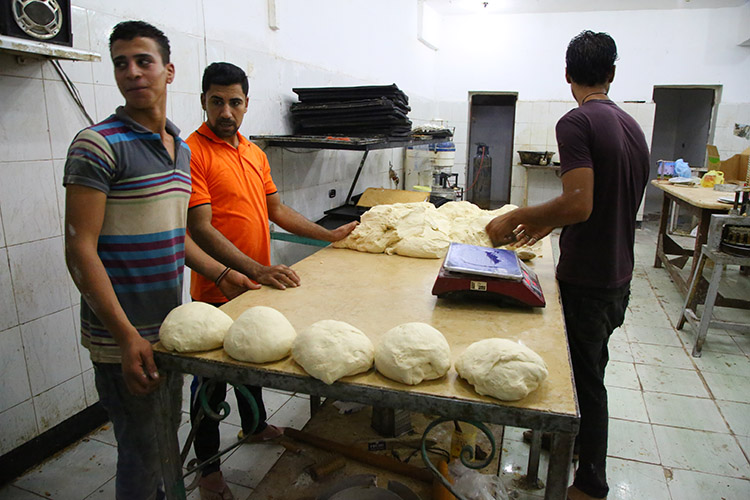 ダハブ エジプト パン屋