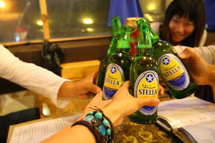 エジプト ビール ステラ