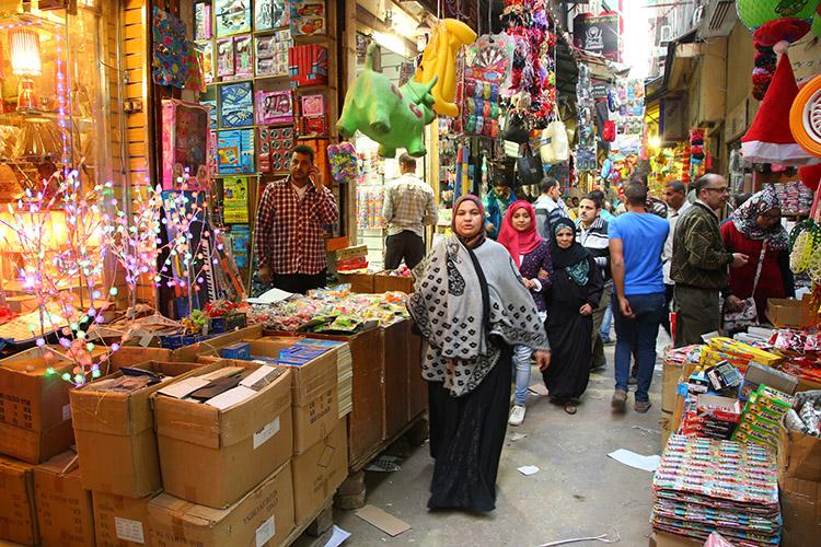 カイロ イスラム地区 ハン・ハリーリ
