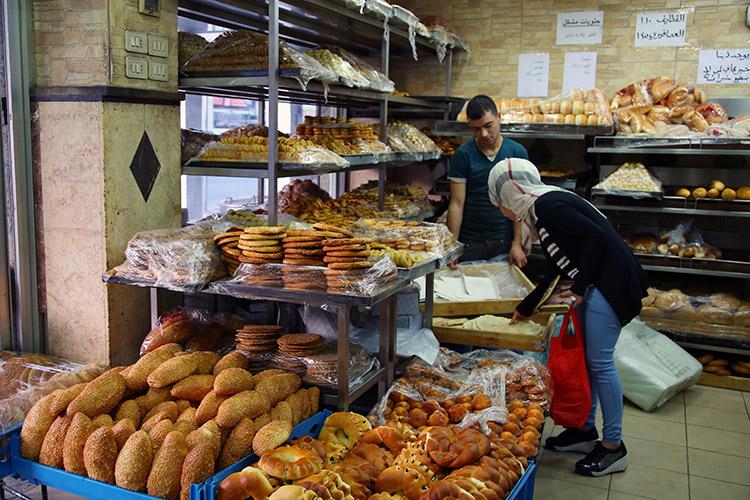アンマン ヨルダン パン屋さん