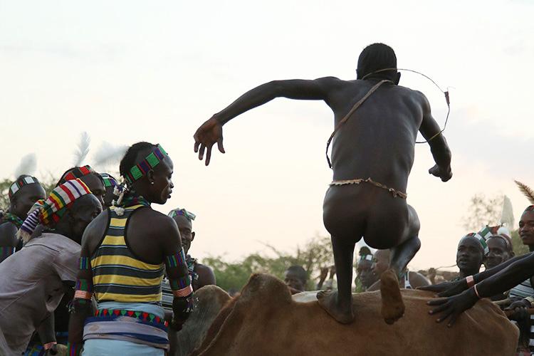エチオピア ディメカ ブルジャンピング