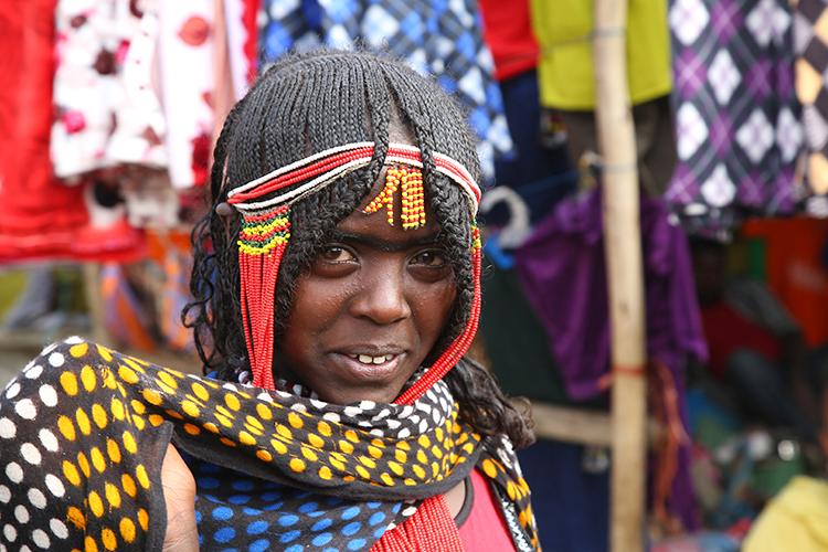 エチオピア ダナキル アファール族