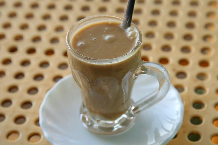 エチオピア 茶店 コーヒー ピーナッツティー