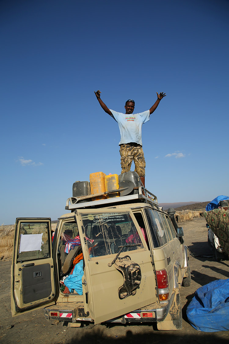 ダナキルツアー エチオピア エチオトラベル