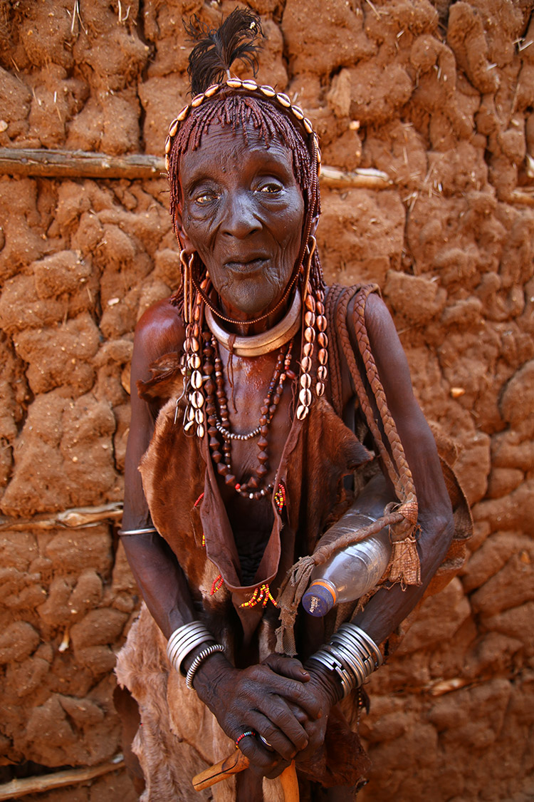 エチオピア トゥルミ 月曜マーケット ハマル族